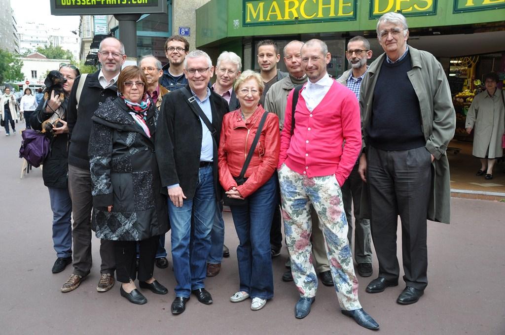 Visite des Camarades du SPD Berlin – Tempelhof – Schöneberg du 4 au 7 octobre 2012