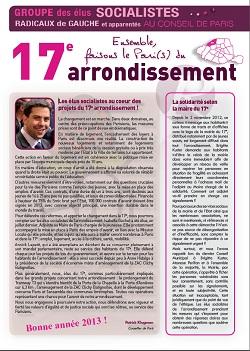 Le Journal des élus – Décembre – Janvier 2013