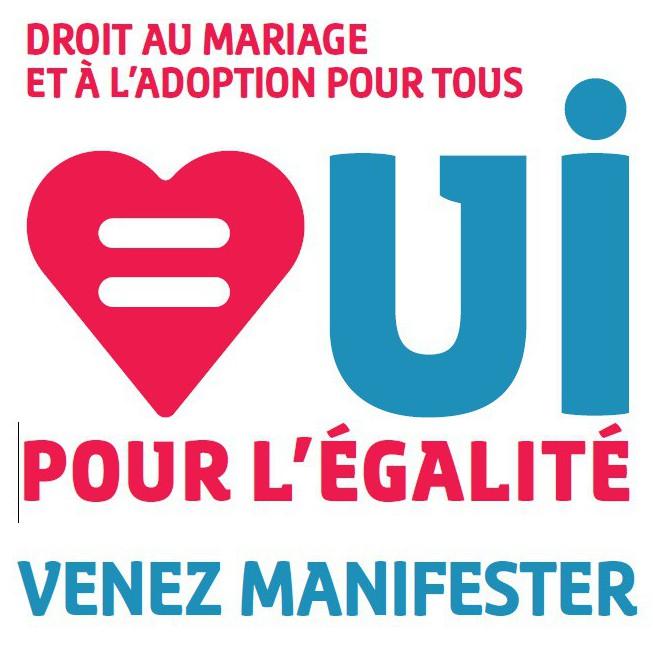Rendez-vous mardi à 18h place Baudoyer à Paris pour saluer l'adoption du mariage pour tous!