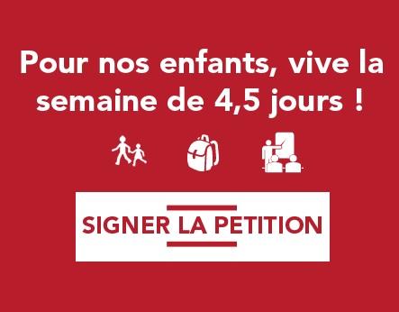 Pour la semaine de 4,5 jours, signez la pétition