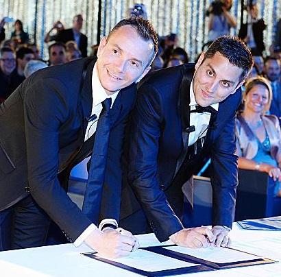 Premier mariage homosexuel dans le 17e le 10 juin 2013
